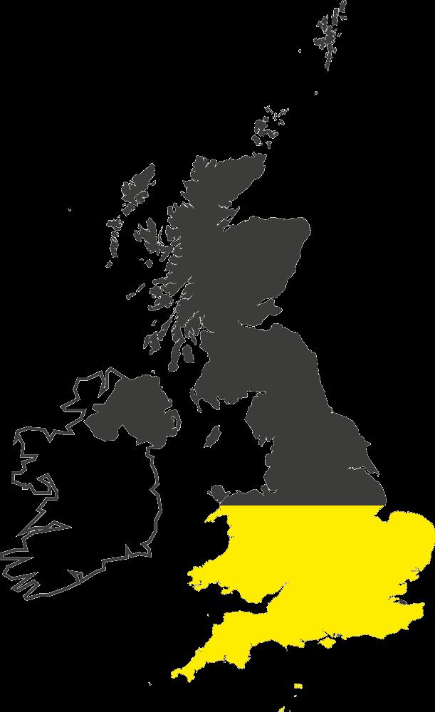20% of United Kingdom
