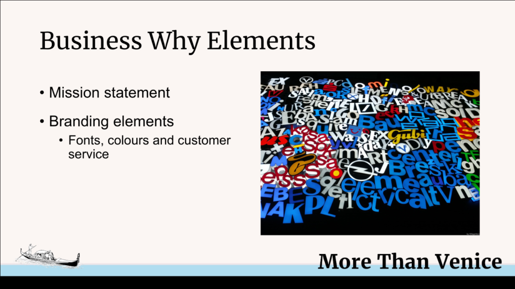 business why elements
