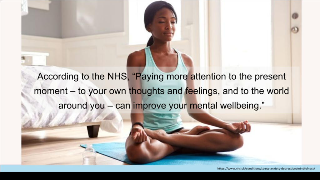 improving your wellbeing quote